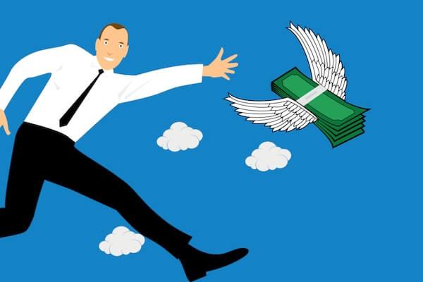 Gift de hombre que ve volar su plata tras la devaluación del peso