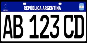 Patente automotor de Argentina